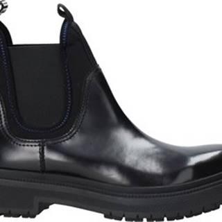 Kotníkové boty B4BKM0011 Černá