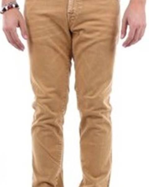 Béžové kalhoty Pt Torino