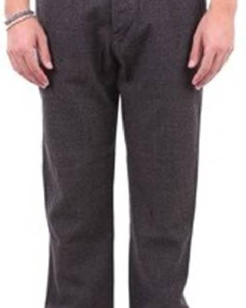 Hnědé kalhoty Pt Torino