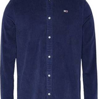 Košile s dlouhymi rukáv DM0DM09503 Modrá