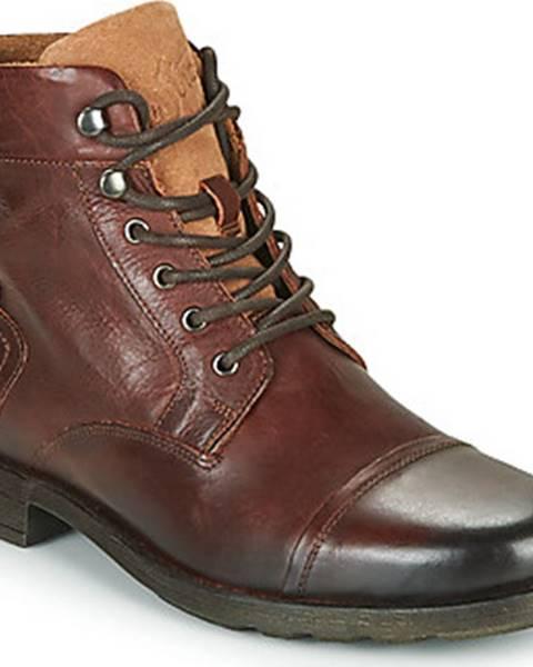 Hnědé boty Levis