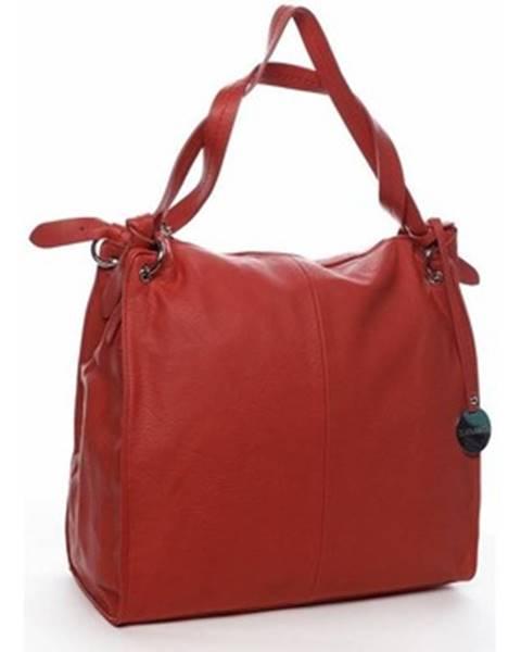 Červená kabelka Diana & Co