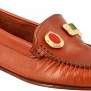Sandály 558 VITELLO CUOIO Hnědá