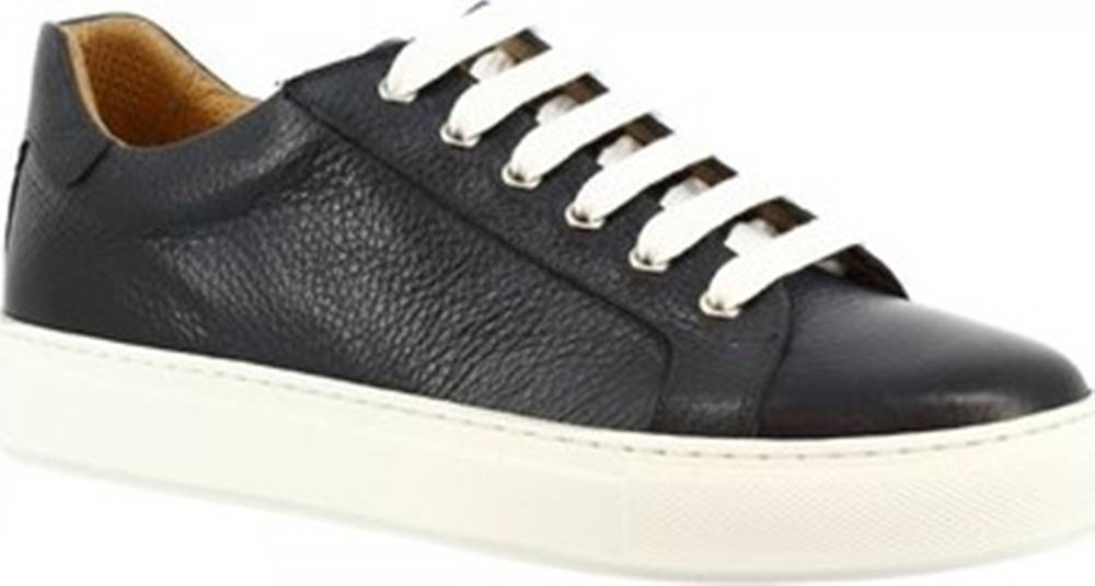 Leonardo Shoes Tenisky 9585E20 ALCE DELAVE BLU Modrá