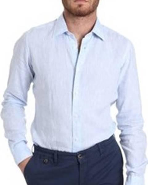 Modrá košile Barbolini Milano