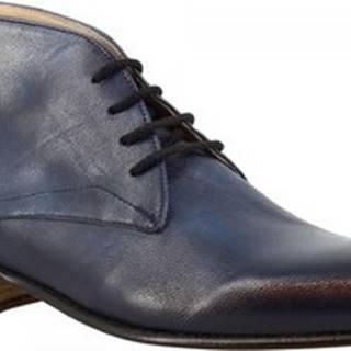 Kotníkové boty 045 CAPRA BLEU Modrá