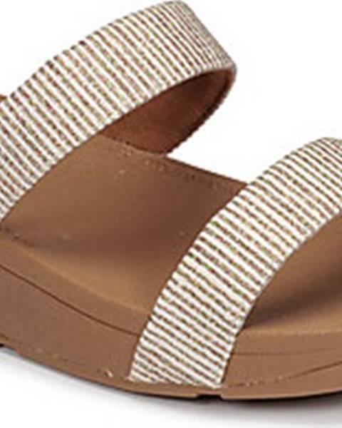 Béžové sandály FitFlop