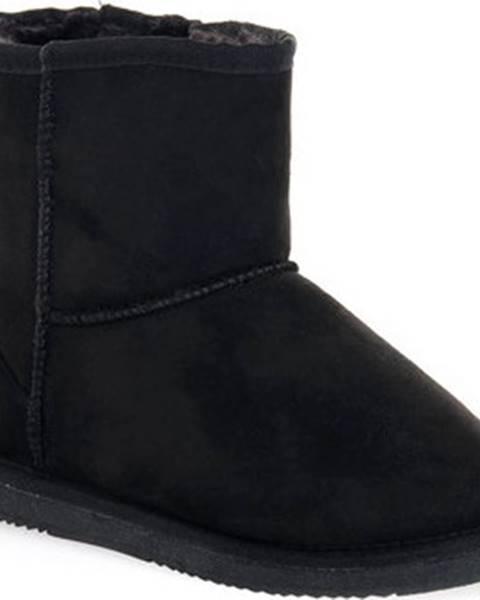 Černé boty Grunland