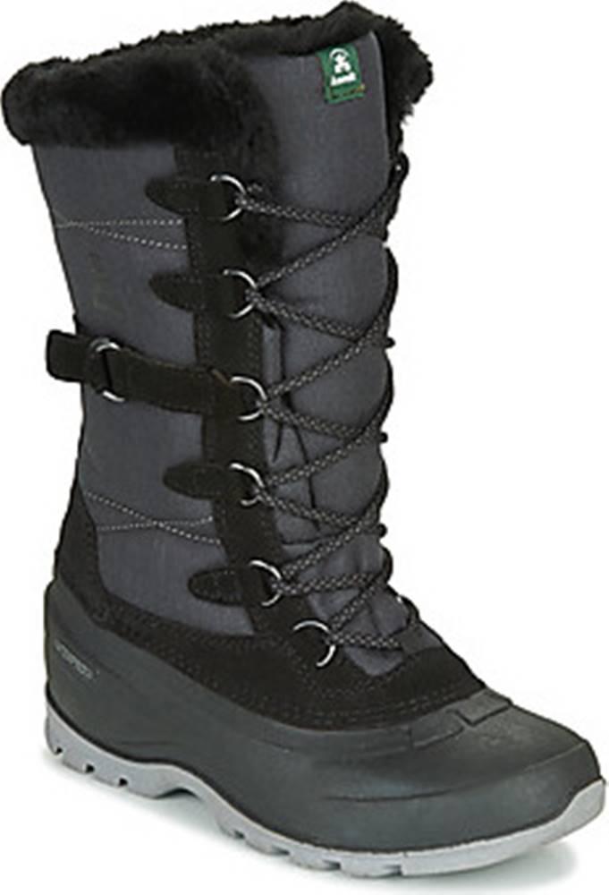 KAMIK Zimní boty SNOVALLEY 2 Černá