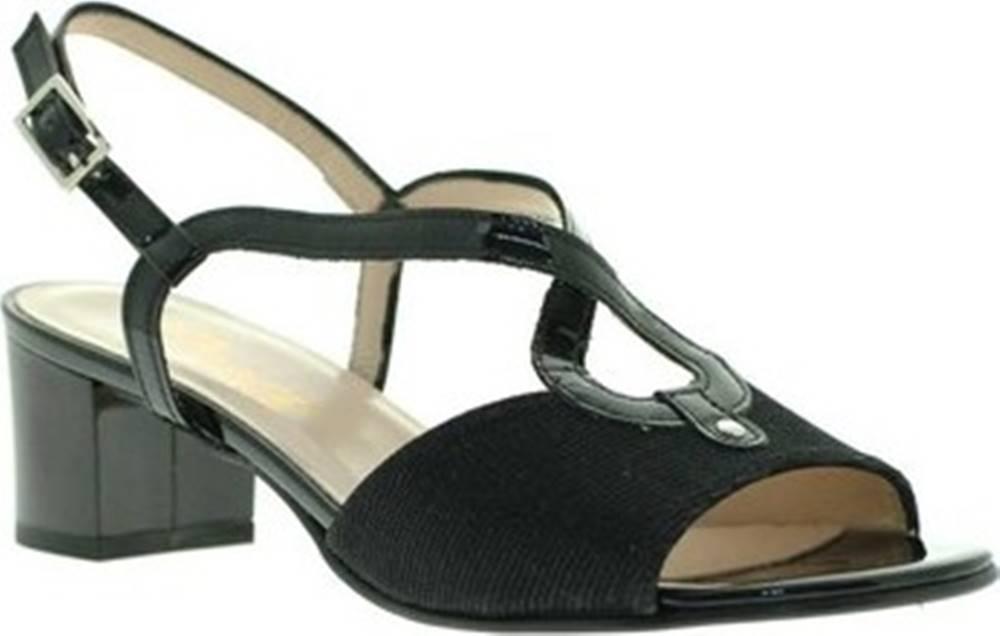 Grace Shoes Sandály E8127 Černá