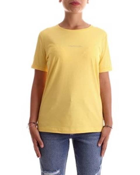 Žlutý top calvin klein jeans