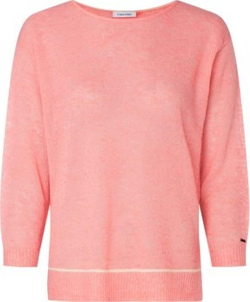 calvin klein jeans Trička s dlouhými rukávy K20K202036 Růžová