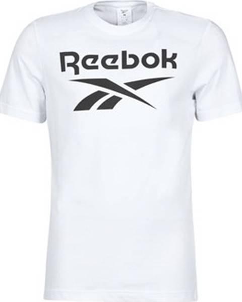 Bílé tričko reebok classic