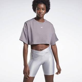 Trička s krátkým rukávem Vector Velour Short Sleeve Crop Top