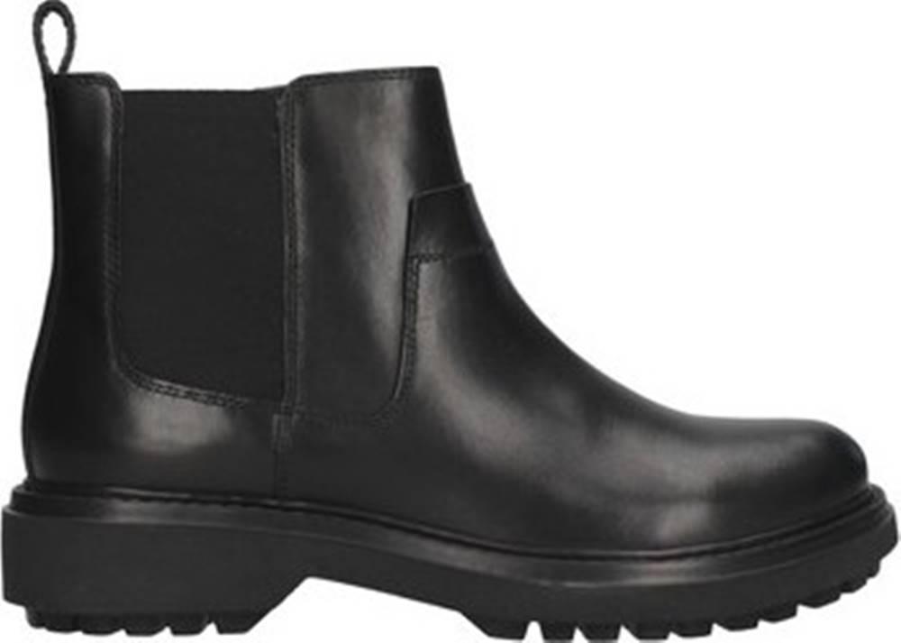 geox Kotníkové boty D047AE00043 Černá