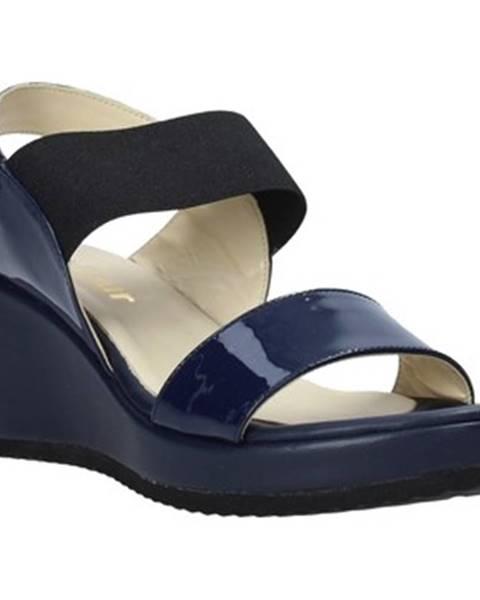 Modré sandály Esther Collezioni