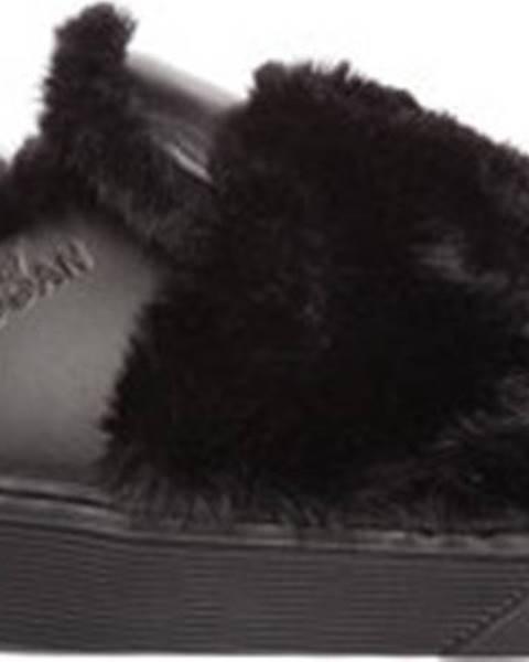 Černé pantofle Hogan