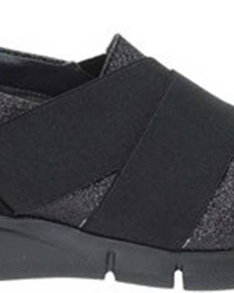 Černé mokasíny Grace Shoes