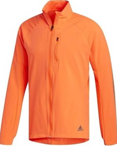 Oranžová bunda adidas