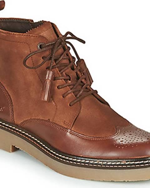 Hnědé boty Kickers