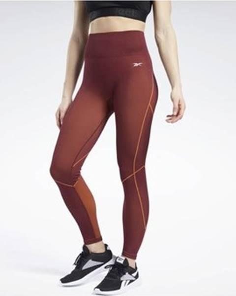 Červené kalhoty Reebok Sport