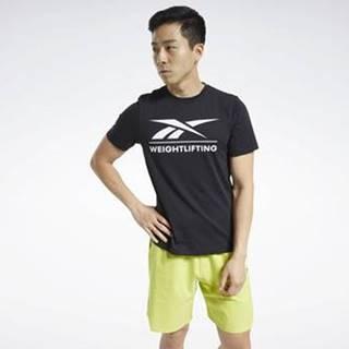 Trička s krátkým rukávem Weightlifting T-Shirt Černá