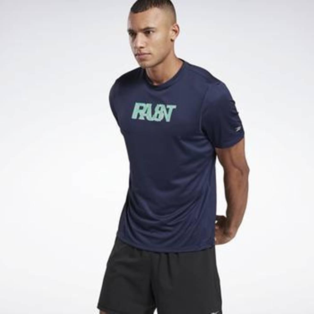 Reebok Sport Trička & Pola Run Essentials Run Fast T-Shirt Modrá