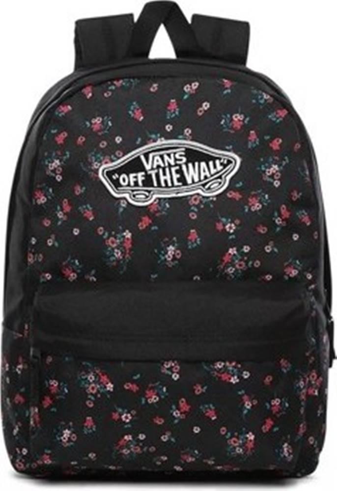 vans Batohy WM Realm Backpack Černá