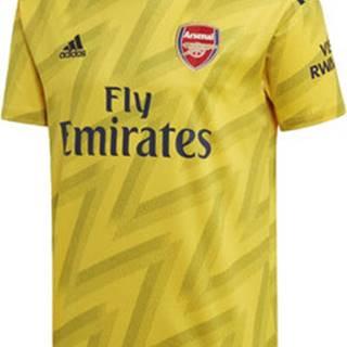 adidas Trička s krátkým rukávem Venkovní dres Arsenal Žlutá