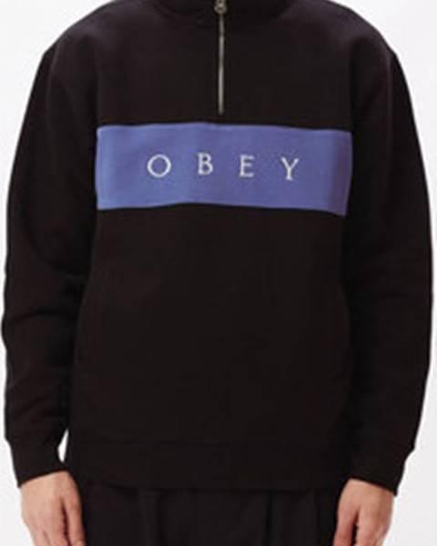 Černá bunda Obey