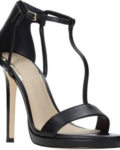 Černé sandály Guess