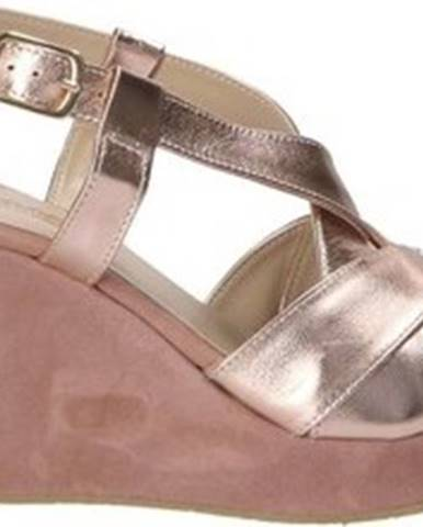 Sandály D 018 Růžová