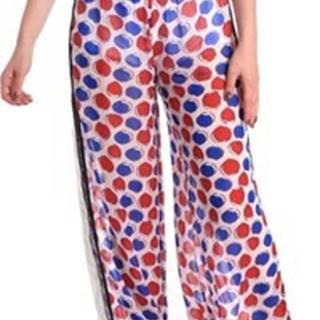 Ležérní kalhoty BE171L91CA0676 Bílá