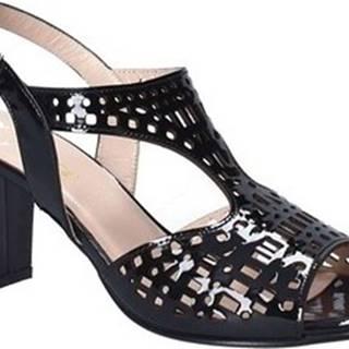 Sandály E8130 Černá