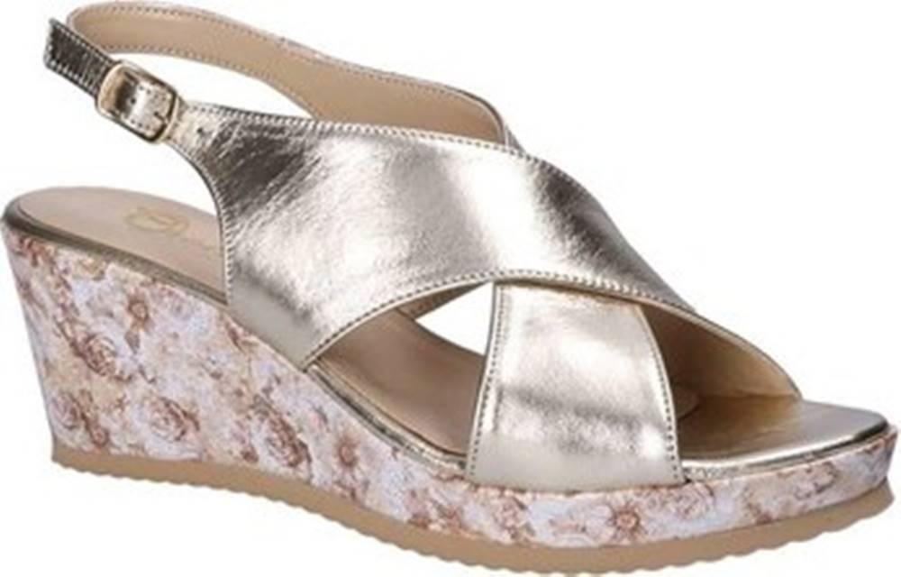 Grace Shoes Sandály ZB 039 Žlutá