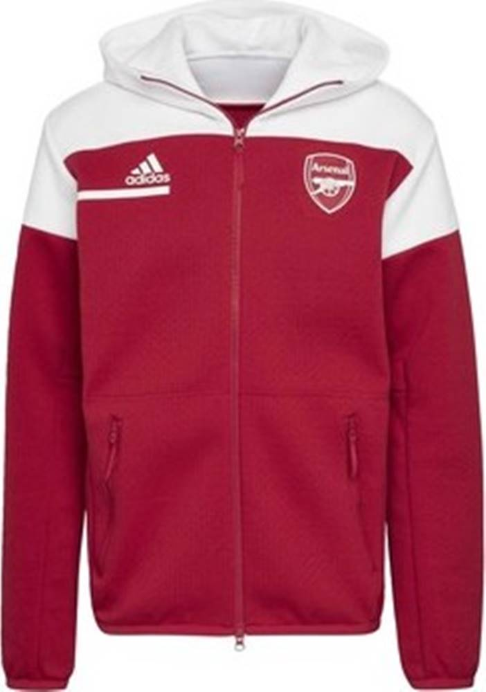 adidas adidas Teplákové bundy Bunda Arsenal Anthem Červená