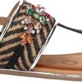 Sandály 59830 Černá