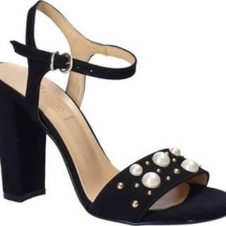 Sandály 1396 Černá