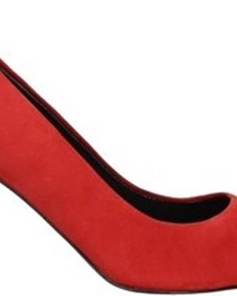Červené boty Luciano Barachini