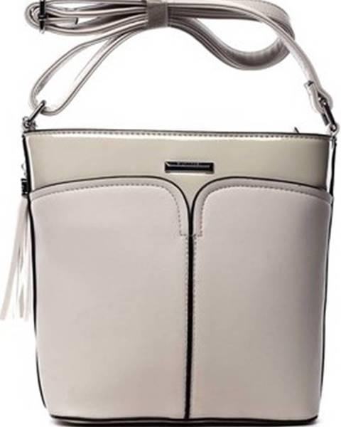 Béžová kabelka Silvia Rosa