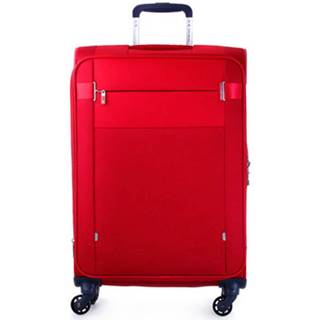 Samsonite Kufry textil 004 CITYBEAT 6624 RED Červená
