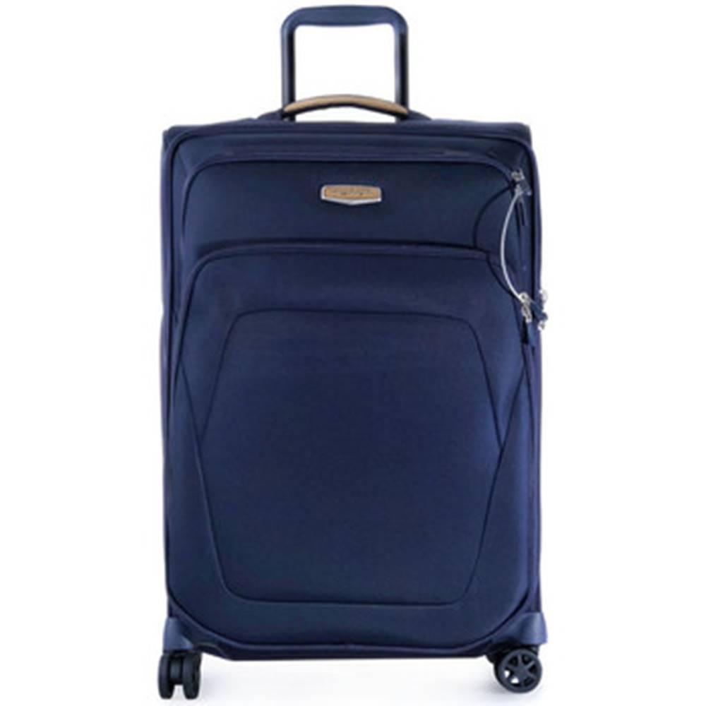 SAMSONITE Samsonite Kufry textil 006 SPARK SNG 6724 BLUE Modrá