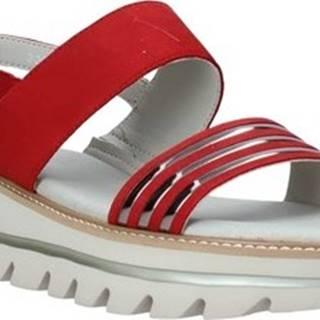 Sandály 6532P Černá