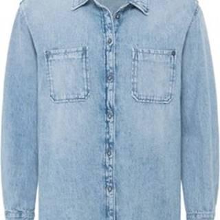 Pepe jeans Košile / Halenk PL303240PA5 Modrá