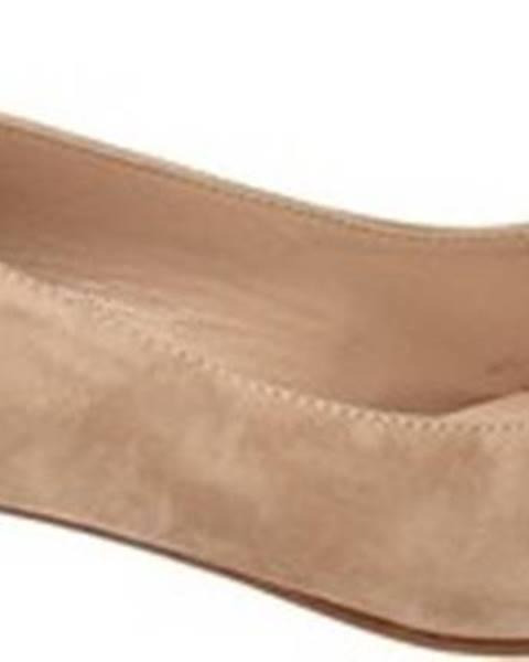 Béžové boty Enval