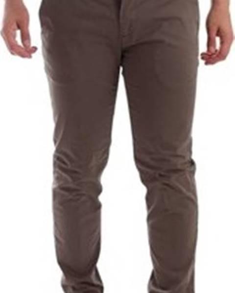 Hnědé kalhoty Sei3sei