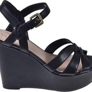 Sandály FL6GUL LEA04 Černá