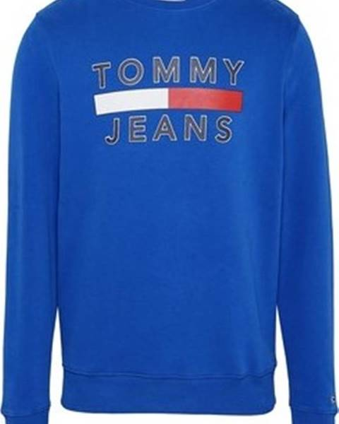 Modrá mikina Tommy Jeans