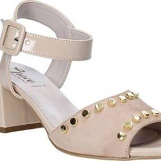 Sandály 1576004 Béžová