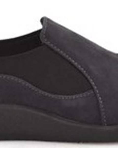 Modré boty Clarks